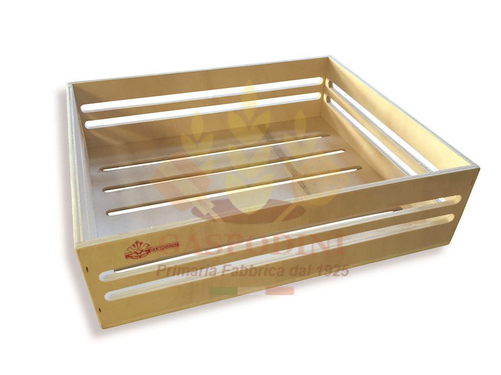 Cassetta in Legno Multistrato di Pioppo Tipo Monte - Prima Scelta