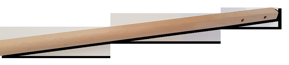 Manico in Legno per Pale a Cavicchi - Sezione ERGONOMICA