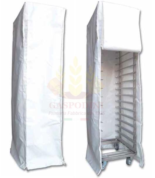Cuffia per Carrello Porta Teglie a Guide in PVC