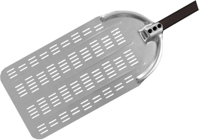 Pala PER PINSA in Alluminio Forato - specifico per impasti ad alta idratazione